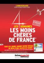 Prospectus Intermarché Super : Les semaines les moins chères de France