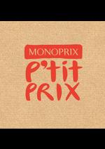 Promos et remises Monoprix : P'tit prix
