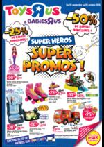 Prospectus Toys R Us : Super héros, Super pormos !