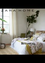 Catálogos e Coleções ZARA HOME : Botanical outono inverno 2016