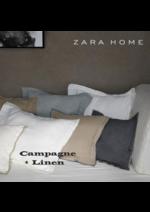 Catálogos e Coleções ZARA HOME : Linen outono inverno 2016