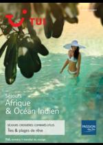 Catalogues et collections Nouvelles frontières : Séjours Afrique & Océan Indien