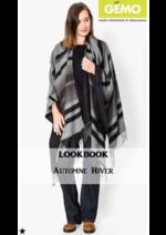 Catalogues et collections Gemo : Lookbook automne-hiver femme 46 au 60