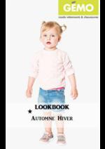 Promos et remises  : Lookbook automne-hiver bébé