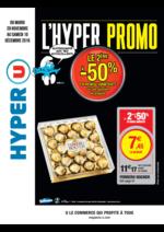 Prospectus Hyper U : L'hyper promo, le 2ème à -50% en remise immédiate