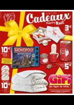 Prospectus Gifi : Spécial Cadeaux Préparez Noël