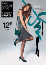 Catalogues et collections Kiabi : #PARTY