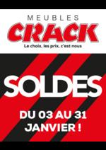 Promos et remises  : Soldes : jusqu'à -50% chez Crack