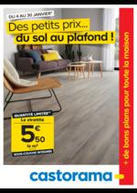Prospectus Castorama : Des petits prix... du sol au plafond !