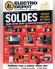 ProspectusELECTRO DEPOT- Soldes sur des milliers de pièces