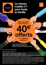 Prospectus Orange : Le réseau mobile numéro 1 pour la famille