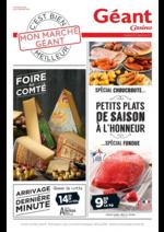 Promos et remises  : Petits plats de saison à l'honneur