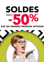 Promos et remises Grand Optical : SOLDES !