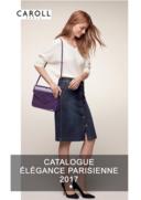 Catalogues et collections caroll L'Île-Saint-Denis : Lookbook Élégance Parisienne