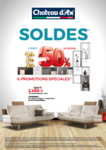 Prospectus Château d´Ax : Soldes et promotions spéciales