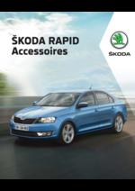 Catalogues et collections Skoda : Les accessoires de la Skoda Rapid
