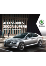 Tarifs Skoda : Tarifs des accessoires Skoda Superb