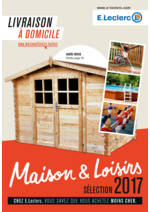 Promos et remises  : Maison & Loisirs sélection 2017