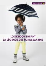 Catalogues et collections Sergent Major : Lookbook enfant La légende des fonds marins