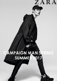 Catálogos y colecciones ZARA Alcorcón : Campaign Man Spring Summer 2017