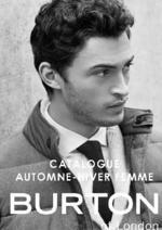 Catalogues et collections Burton : Catalogue automne hiver 2016-17 homme