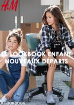 Promos et remises  : Le lookbook enfant Nouveaux départs