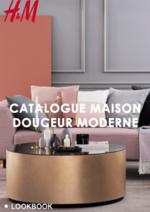 Catalogues et collections H&M : Catalogue maison Douceur moderne