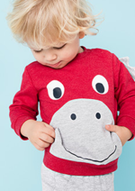 Catalogues et collections C&A : La collection Petits dinosaures pour bébé