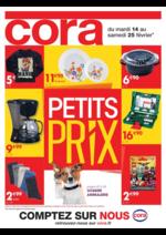 Prospectus Cora : Petits prix