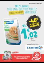 Prospectus E.Leclerc : -40% de réduction immédiate