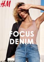 Promos et remises  : Lookbook femme Focus denim