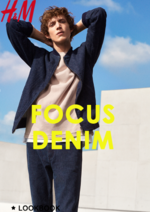 Promos et remises  : Lookbook homme Focus denim
