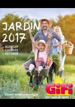 Prospectus Gifi : Jardin 2017