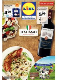 Prospectus Lidl MOLSHEIM : Italiamo passione italiana