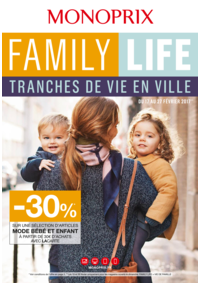 Prospectus Monoprix SAINT GERMAIN EN LAYE : Family life