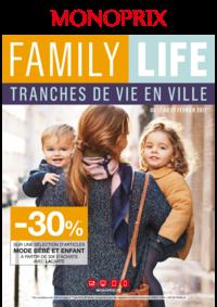 Prospectus Monoprix NANTERRE : Family life