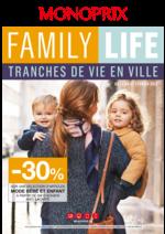 Prospectus Monoprix : Family life