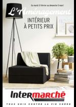 Prospectus Intermarché Hyper : L'aménagement intérieur à petits prix