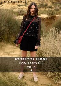 Catalogues et collections Promod Geispolsheim : Lookbbook printemps été 2017