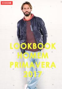 Catálogos e Coleções New Code Barreiro : Lookbook Homem primavera 2017