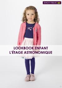 Catalogues et collections Sergent Major Mons : Lookbook enfant L'étage astronomique
