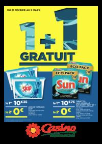 Prospectus Supermarchés Casino ASNIERES ZAC du métro - Ilot F : 1+1 gratuit