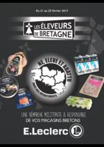 Prospectus E.Leclerc : Les éleveurs de Bretagne