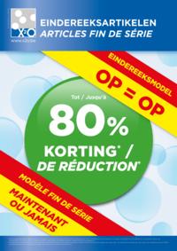 Prospectus X2O BATIBOUW 2015 - BRUSSEL : Articles fin de série