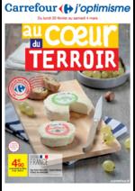 Prospectus Carrefour : Au coeur du terroir