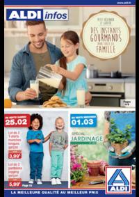 Prospectus Aldi Argenteuil : Des instants gourmands pour toute la famille
