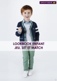 Catalogues et collections Sergent Major PARIS : Lookbook enfant Jeu, Set et Match