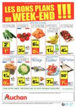 Prospectus Auchan : Les bons plans du week-end !