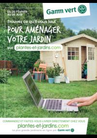 Prospectus Gamm vert nature TAVERNY : Trouvez ce qu'il faut pour aménager votre jardin