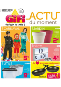 Prospectus Gifi REDON : Actu du moment